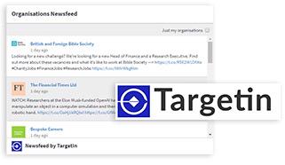 TargetIn Newsfeed